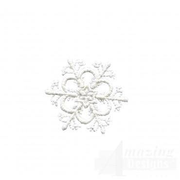 Crewel Snowflake 4 Embroidery Design
