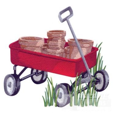 Wagon Of Pots