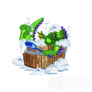 Bath Time Dragon