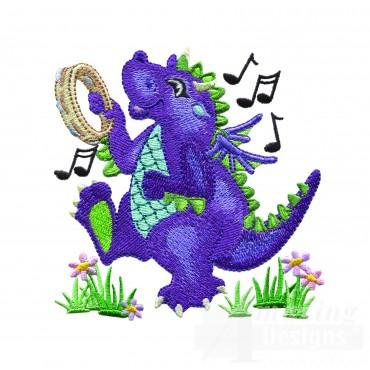 Tambourine Dragon