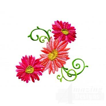 Delightful Daisy Swndsy119 Embroidery Design