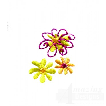 Delightful Daisy Swndsy144 Embroidery Design