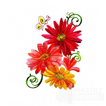 Delightful Daisy Swndsy147 Embroidery Design