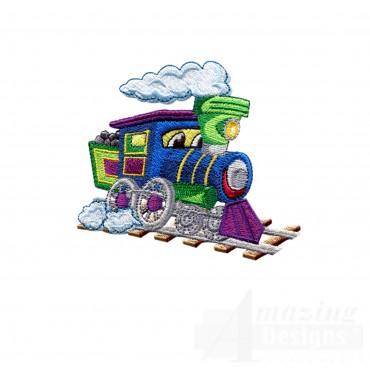 Choo Choo Train 5 Embroidery Design