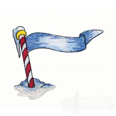 Arctic Flag Pole