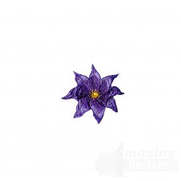 Swnfl235 Flourishing Flowers Embroidery Design