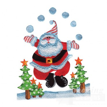 Santa Juggling