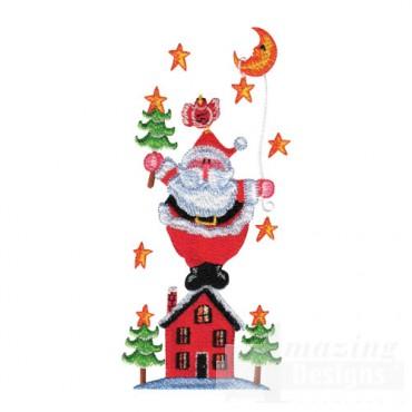 Santa on House