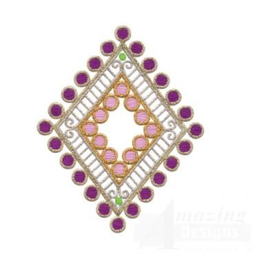 Decorative Diamond Accent