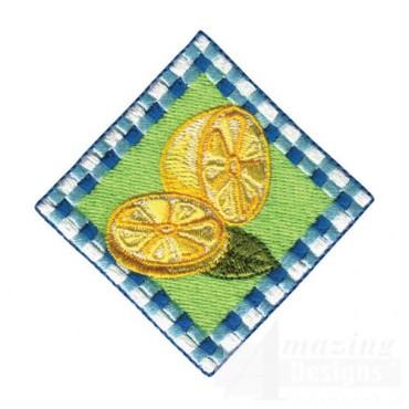Lemon Wedge Square