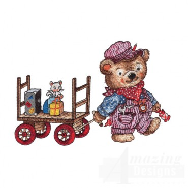 Bear with Train