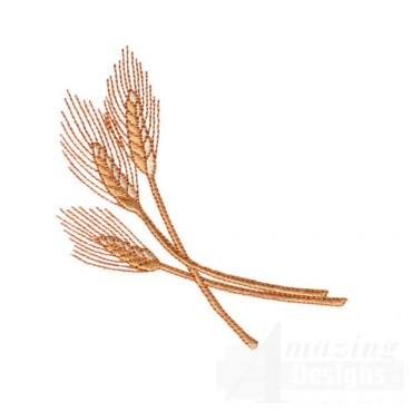 Three Wheat Shafts