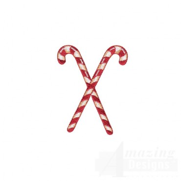Crossed Candy Canes