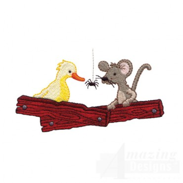 Duck Mouse and Spider