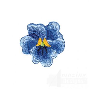 Blue Floral Bloom