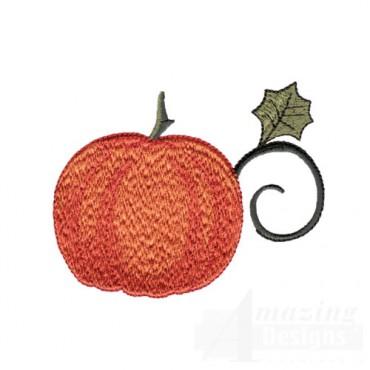 Pumpkin With Vine