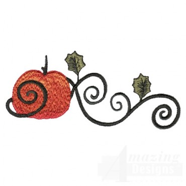 Pumpkin With Scroll