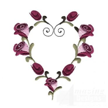 Rose Heart Frame 1