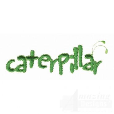 Caterpillar Lettering