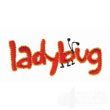 Ladybug Lettering