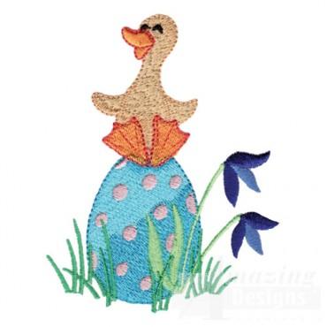 Duck On Egg