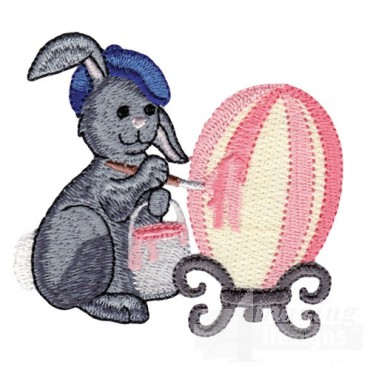 Rabbit With Egg 4