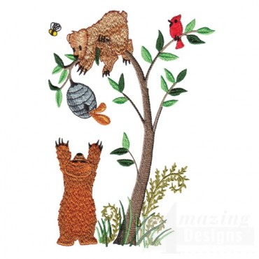 Bears And Beehive