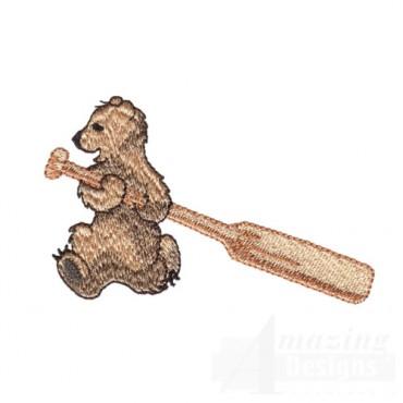 Bear Wth Paddle