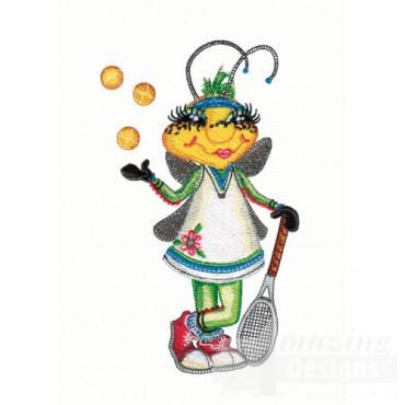 Bug Tennis Player