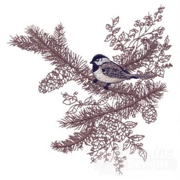 Perched Bird 10