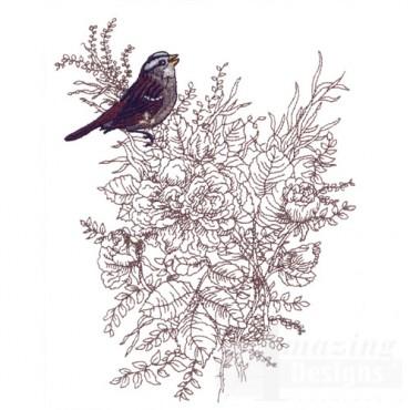 Perched Bird 14