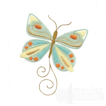 Multi-Colored Butterfly 1