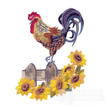 Barnyard Roosters by Sewing With Nancy