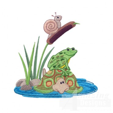 Snail Frog And Turtle