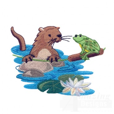 Otter And Frog