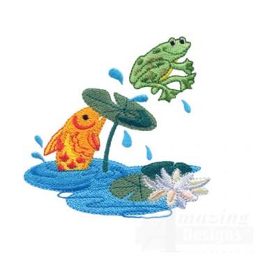 Fish And Frog