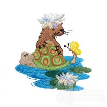 Otter And Turtle