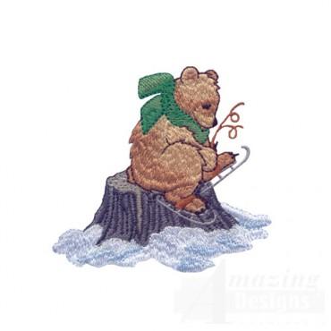 Ice Skating Bear 2