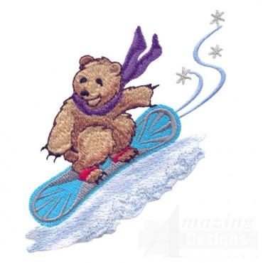 Snowboarding Bear 2