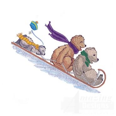 Sledding Bears