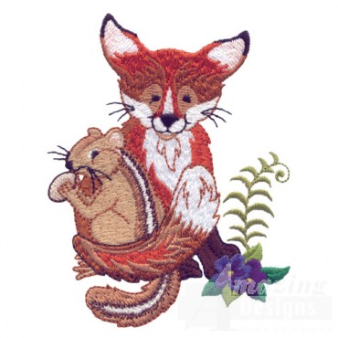Fox And Chipmunk