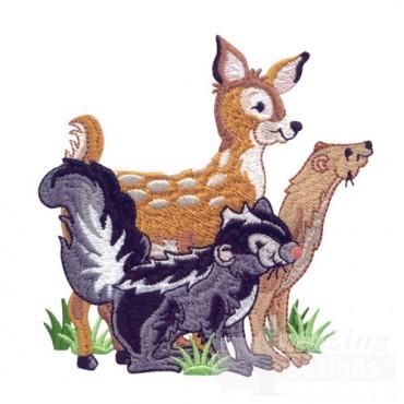 Skunk, Deer, Ferret