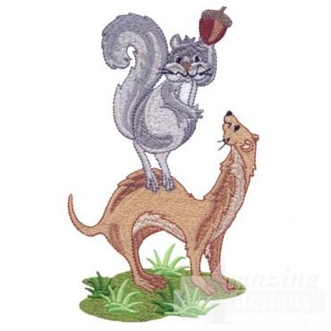 Squirrel And Ferret