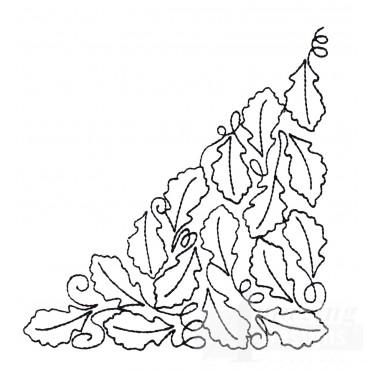 Leaf Quilt Corner 8