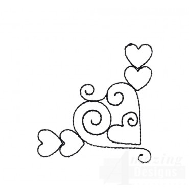 Sweet Dreams Outline 2 Embroidery Design