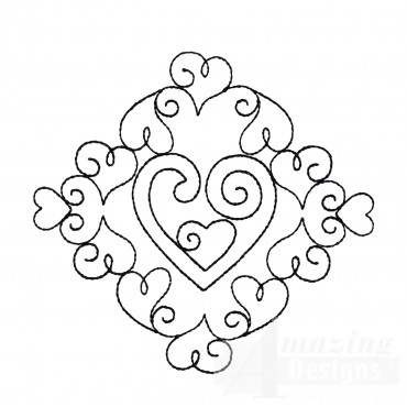 Sweet Dreams Outline 4 Embroidery Design