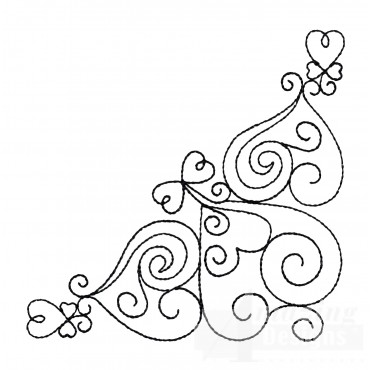 Sweet Dreams Outline 12 Embroidery Design