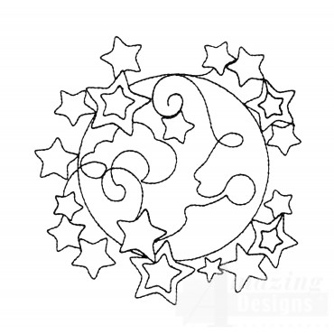 Sweet Dreams Outline 15 Embroidery Design