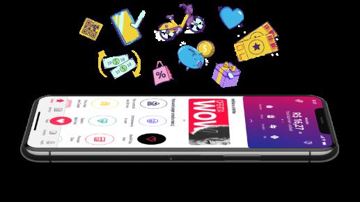 Ame o Super App com tudo que você precisa.