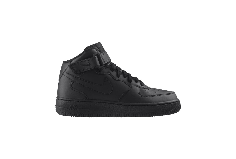 Nike Air Force 1 Mid Nere GS Ragazzo